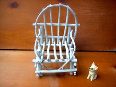 Vintage Miniature Furniture Chair