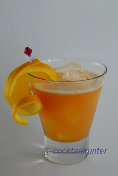 TANGERINE CHILL - Nothing could be more refreshing on a hot summer's day than this colourful Tangerine Chill.