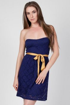 Blue moon sweetheart dress....WVU!!