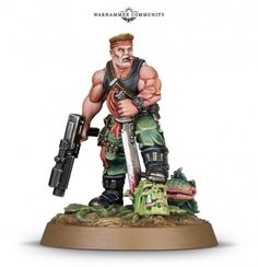 Sly Marbo - Catachan - Warhammer 40k New Release - 8th edition