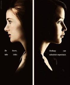 Tris and Katniss // Who do you like more? Tris or Katniss? Absolutely Beatrice Prior for me!!!!!!