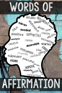 "Self Worth ""I Am"" Posters and Writing with Editable Text for School Counselors words of affirmation; self worth, boys self esteem activities Self Esteem Activities, Counseling Activities, Art Therapy Activities, Leadership Activities, Group Activities, Health Activities, Kindness Activities, Elementary School Counseling, School Counselor"