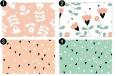 Free Printable Patterned Envelopes