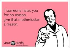 Haters gonna hate. Haha :)