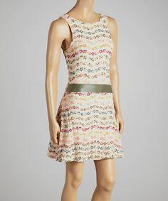 Look at this #zulilyfind! Pink Flower Sleeveless Dress by MOA Collection #zulilyfinds