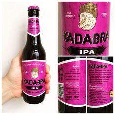 La Cerveza del Viernes: @Kadabra_beer IPA. De cuerpo medio poco amarga deja gusto torrefacto y floral en boca. Equilibrada.