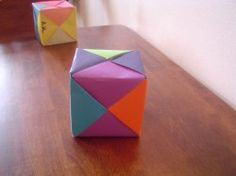 This little math origami cube is the perfect fun lesson plan idea for the classroom teacher or substitute teacher alike...