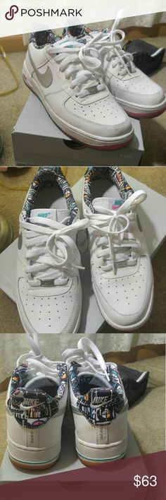 Nike Air Force Ones Worn 5x , I'll wipe em down before I send them. Nike Shoes Sneakers