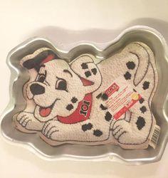 101 Dalmatians Cake Pan Puppy Birthday Cake decorating