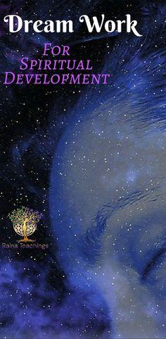 Dream Work For Spiritual Development Spiritual Love, Spiritual Enlightenment, Spiritual Health, Spiritual Practices, Spiritual Growth, Spiritual Awakening, Spirituality Art, Spiritual Awareness, Spiritual Wisdom