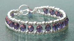 Dubbele armband met facetkralen-Armbanden maken met kralen-Hoe maak je...-Kralenkwarts
