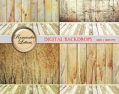 Newborn digital backdrops room digital photography backdrop background digital photo scrapbook paper wood Shabby Chic wood newborn backkdrop