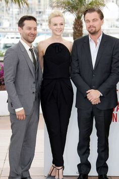 How gorgeous does Carey Mulligan look in this Balenciaga jumpsuit in Cannes? Stunning! #fashion #cannes #jumpsuit