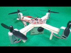 How to make a RC Quadcopter Using 180 motor - YouTube