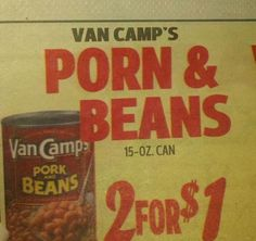 This grocery ad:   The 33 Most Unfortunate Typos Of All Time