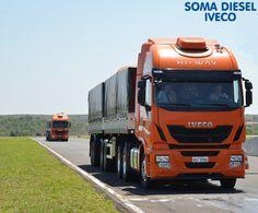 A carga do nosso caminhão já está preparada para essa terça! #iveco #hiway #instatruck