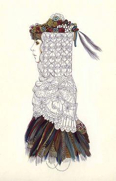 illustration by camila do rosario - stunning