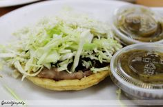king taco sopes...the best!