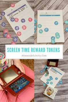 Housewife Eclectic: Screen Time Reward Tokens #YOKAIWATCH, #IC (ad)