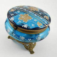 Ormolu Mount Vanity Dresser Jar