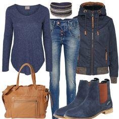 BlueStuff Outfit - Freizeit Outfits bei FrauenOutfits.de