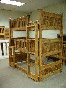 Triple Bunk Bed Plans