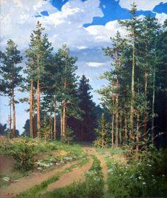 Русский художник Булаков Александр Владимирович. Заповедный край