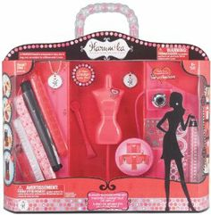 Harumika Runway Showstopper Set by Bandai. $64.23. A USB Camera is included so girls can upload their fashions online. Pink dress form with stylus and fold out runway stage. Two exclusive charms hold special codes to unlock exclusive web content. Set includes fashion accessories with fabric swatches and rhinestones. A whole new way for girls to design their own fashion line. From the Manufacturer                Style your imagination with Harumika Showstopper ...