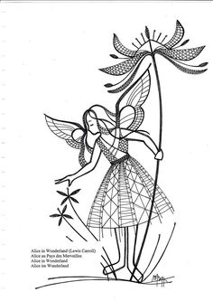 Bobbin Lace Patterns, Lacemaking, String Art, Crow, Diy And Crafts, Fairy, Clip Art, Embroidery, Boho