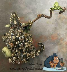 Ouroboros Miniatures Orc Shaman by Alan O'Bryan