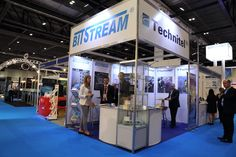 Bitstream ECOC London 2013 Shell Scheme  & Graphics