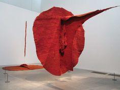'Abakan Red' by Magdalena Abakanowicz. Artwork Type: Other; Magdalena Abakanowicz, Red Y, Organic Structure, Textiles, Process Art, Elements Of Art, Soft Sculpture, Conceptual Art, Art Plastique