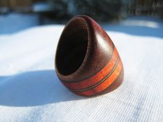 Endeavours - Chunky Wood Ring