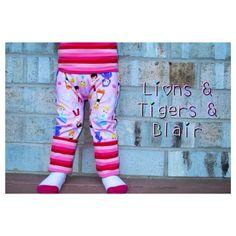 Handmade Pink Stripe Princess Fart Sacks, Size 3M-3T Grow With Me Pants, Cloth Diaper Pants, Fluff Butt Pants, Leggings, Long Pants by LionsTigersandBlairs on Etsy https://www.etsy.com/listing/210899727/handmade-pink-stripe-princess-fart-sacks