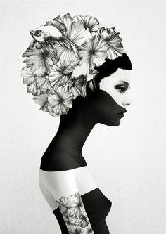 """Marianna by Ruben Ireland  ART PRINT / MINI (8"""" X 10"""") $18.00 #art #myfavart #artprints"""