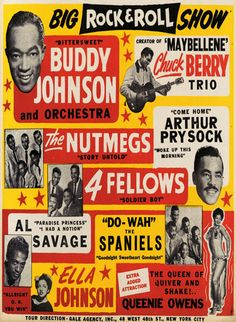old rock posters 1950s - Google Search