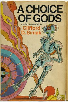 """""""A Choice of Gods"""" Cover by Mike Hinge, 1972 
