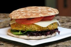 Small Kitchen College » Healthy Homemade: The Meat Lover's Veggie Burger