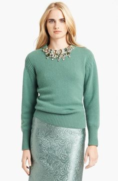 Burberry Prorsum Embellished Sweater
