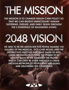 Maximized Living   The Mission