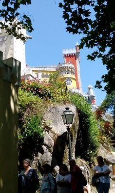 Sintra, Portugal, Candy Castle