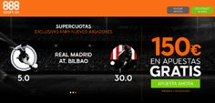 el forero jrvm y todos los bonos de deportes: 888sport bienvenida 150 euros + supercuota 5 o 30 ...