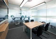 Chairholder Porsche Consulting - Office facilities