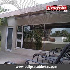 toldo retráctil automático y manual #retractiles #malla sombra #velarias #eclipsecubiertas www.eclipsecubiertas.com