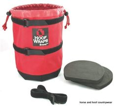 Mossy Creak Easy Soaker It can be difficult to soak a horses hoof especially if he likes to fidgit with buckets and soaking treatments.