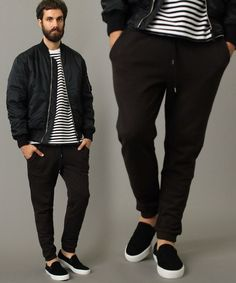BEAUTY&YOUTH MENS(ビューティアンドユース メンズ)の【WEB限定】∴ by テーパード コットンスウェットパンツ(パンツ)|ブラック