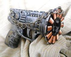 Fizzwigg Galvanic Pistol steam punk gun by AgentOfChaos on Etsy, $25.00