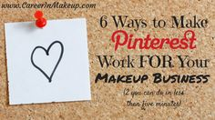 As a MUA, if you want to stay relevant on social media you need to be using Pinterest. And if you're going to make Pinterest part of your work, then you should definitely make sure it's working for you!