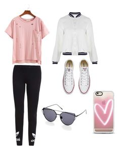 """Untitled #4"" by madkmckinnon ❤ liked on Polyvore featuring adidas Originals, Related, Converse and Casetify"