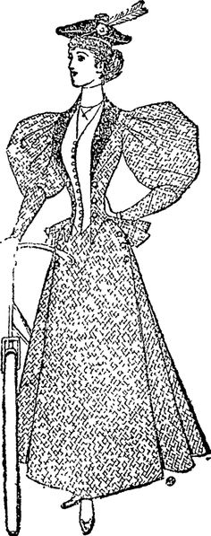 A Smart Cycle Suit. (Auckland Star, 26 September 1896)